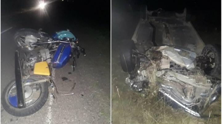 Смертельная авария на трассе: в Башкирии погиб 25-летний мотоциклист