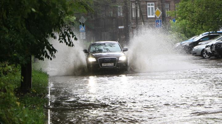 Мокрые выходные: нижегородцев предупредили о ливнях и грозах