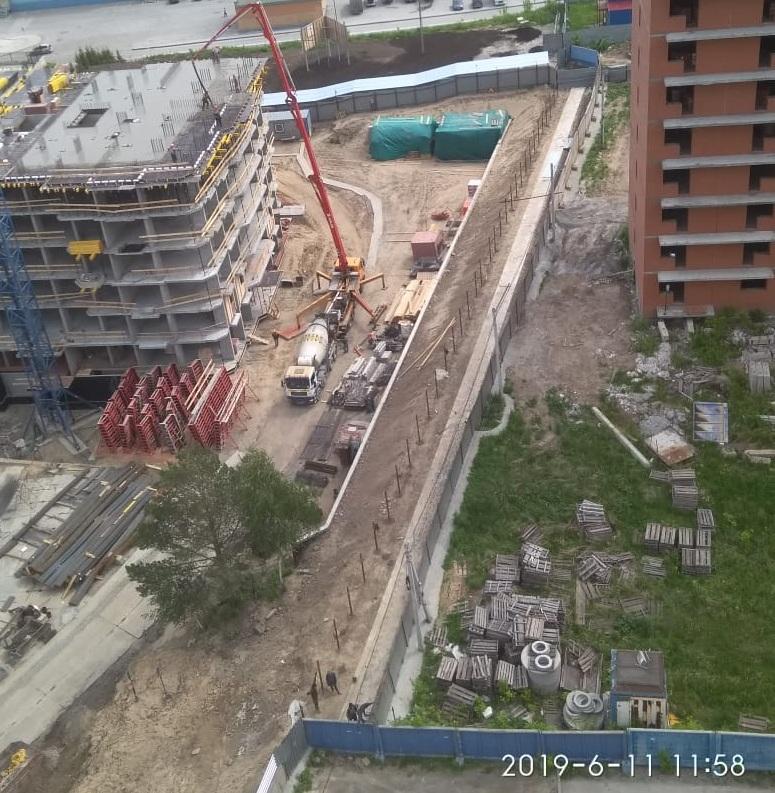 Строительство пешеходной дорожки закончилось на этой неделе