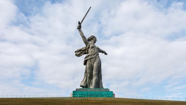 Минкульт РФ: в Волгограде «Родину-мать» отреставрировали на 95%