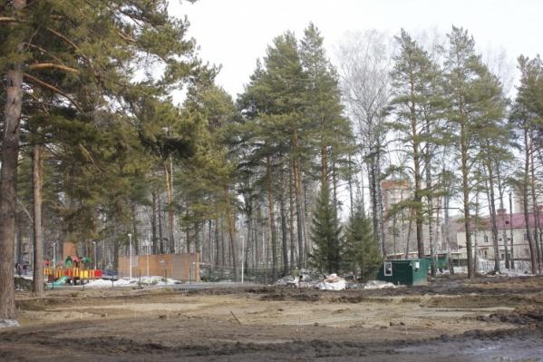 На территории парка планировали поставить два складных бассейна за 25 миллионов