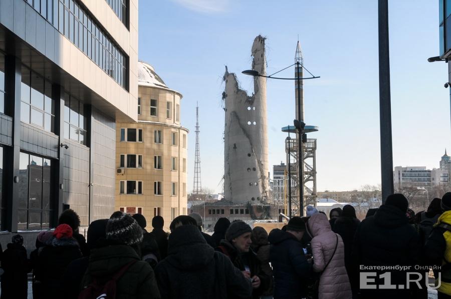 Башню взорвали 24 марта