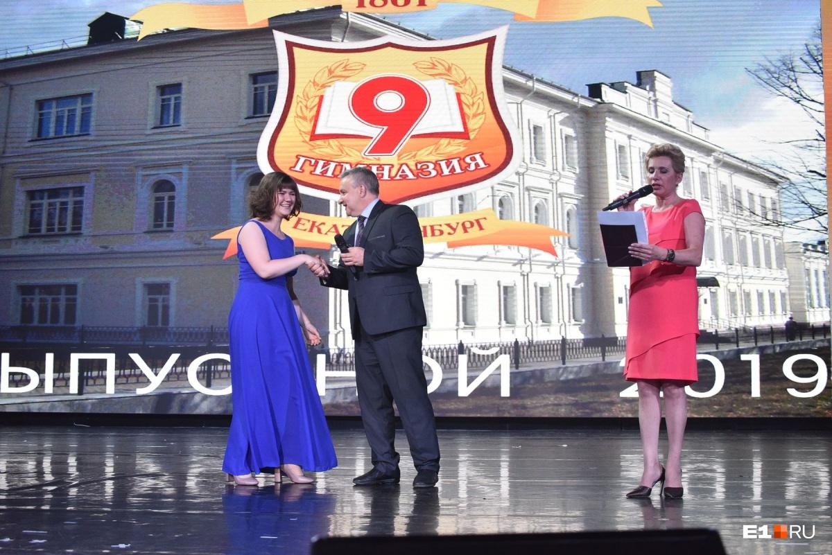 Анастасия Пределина, которая  получила за ЕГЭ четыреста баллов