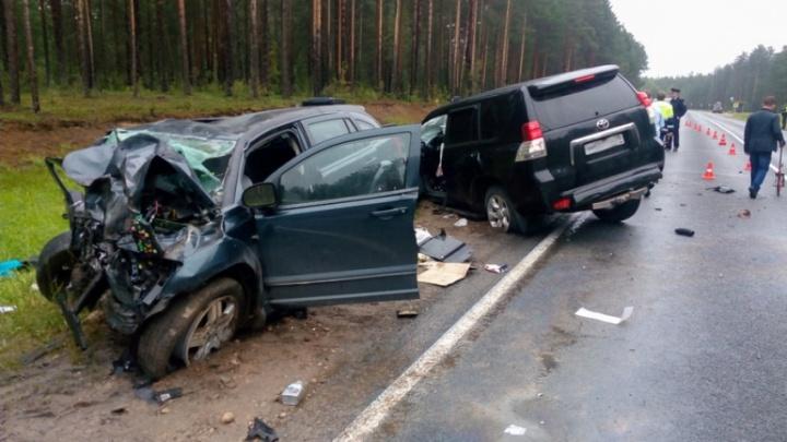 Трое пострадавших в крупной аварии под Шенкурском доставлены в больницы Архангельска