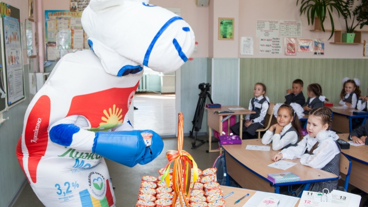 В омских школах стартует новый сезон уроков молоковедения
