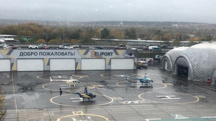 Хоккеист «Локомотива» летал встречать родню: в Ярославской области появилось воздушное такси