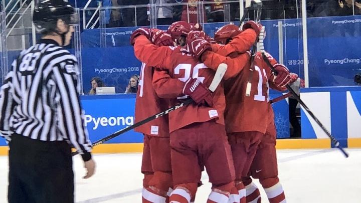 Челябинский хоккеист помог сборной России выиграть золото на Олимпиаде-2018