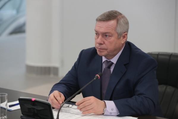 Голубев подписал документ о выдаче многодетным земельных сертификатов