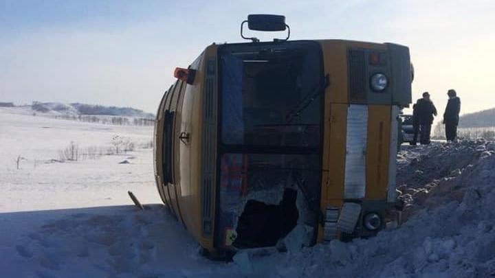 Аварию со школьным автобусом в Башкирии проверит следком