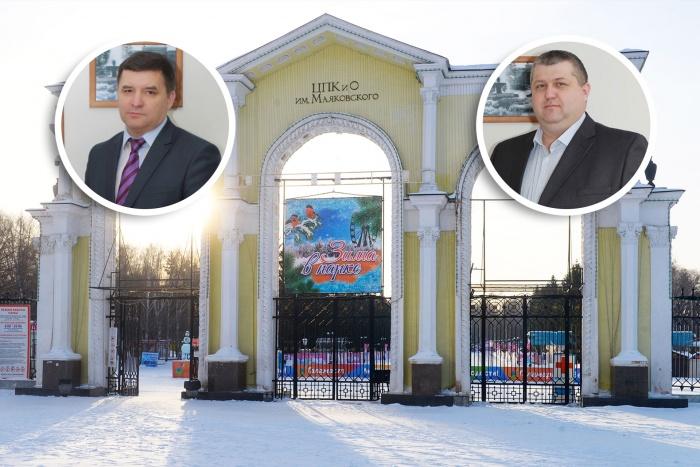 У Романа Шадрина двое замов: Михаил Юланов (слева) и Олег Козлов