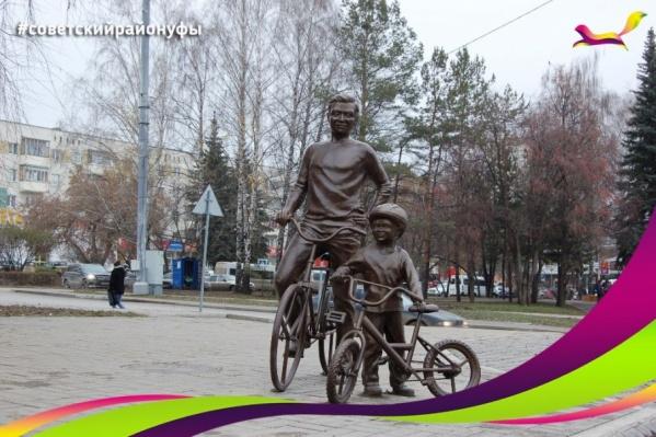Велосипедисты украсили Советский район