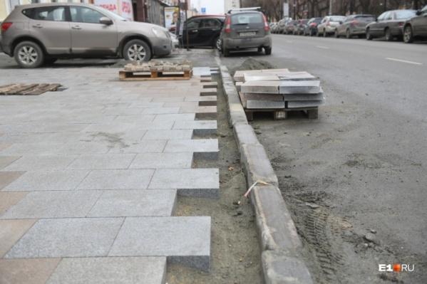 Ремонт проспекта Ленина начался летом