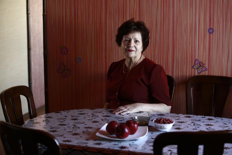 Ветеран Черепановской ЦРБ Мария Котлярова, работала старшей медсестрой до 2003 года