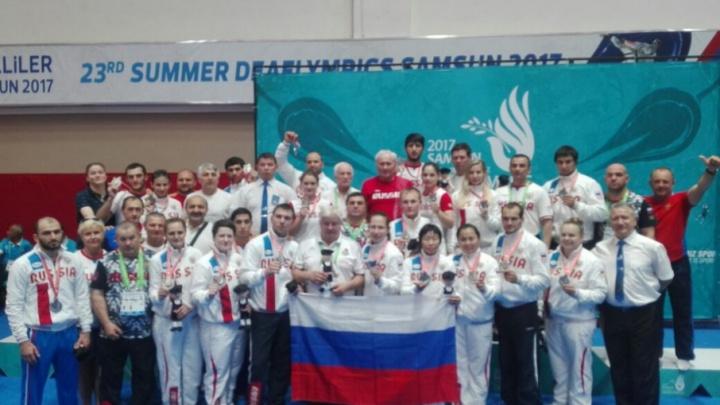 Сурдлимпийцы из Башкирии привезли награды летних игр