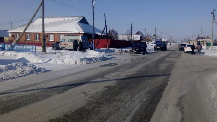 Сошлись на перекрестке: в результате аварии в Челябинской области погиб человек