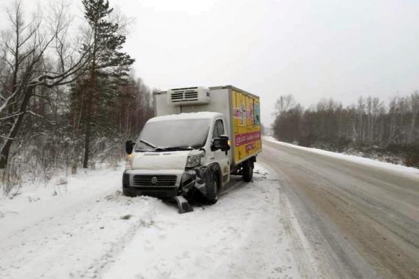 Авария произошла в Мошковском районе