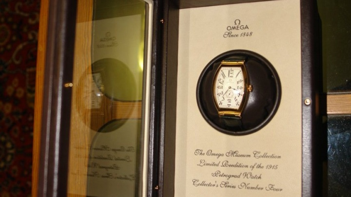 На аукционе за 1,5 миллиона продают золотые часы «как у императора»