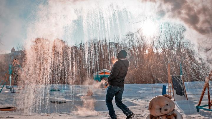 #дубакчеллендж по-омски: присоединяемся к морозному флешмобу