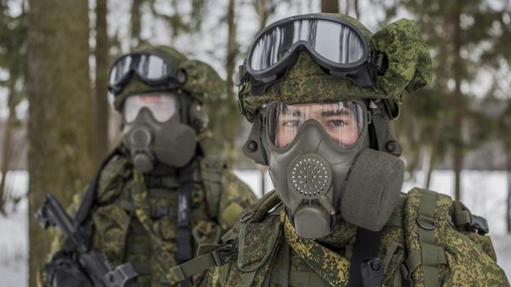Самарским военным привезли противогазы нового поколения