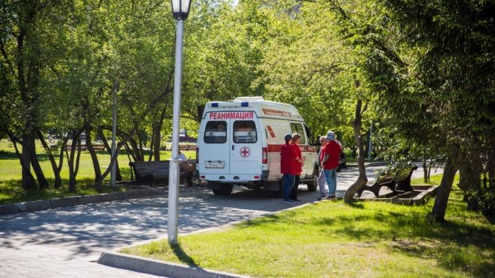 Ещё одна участница голодовки на площади Ленина уехала на «скорой»