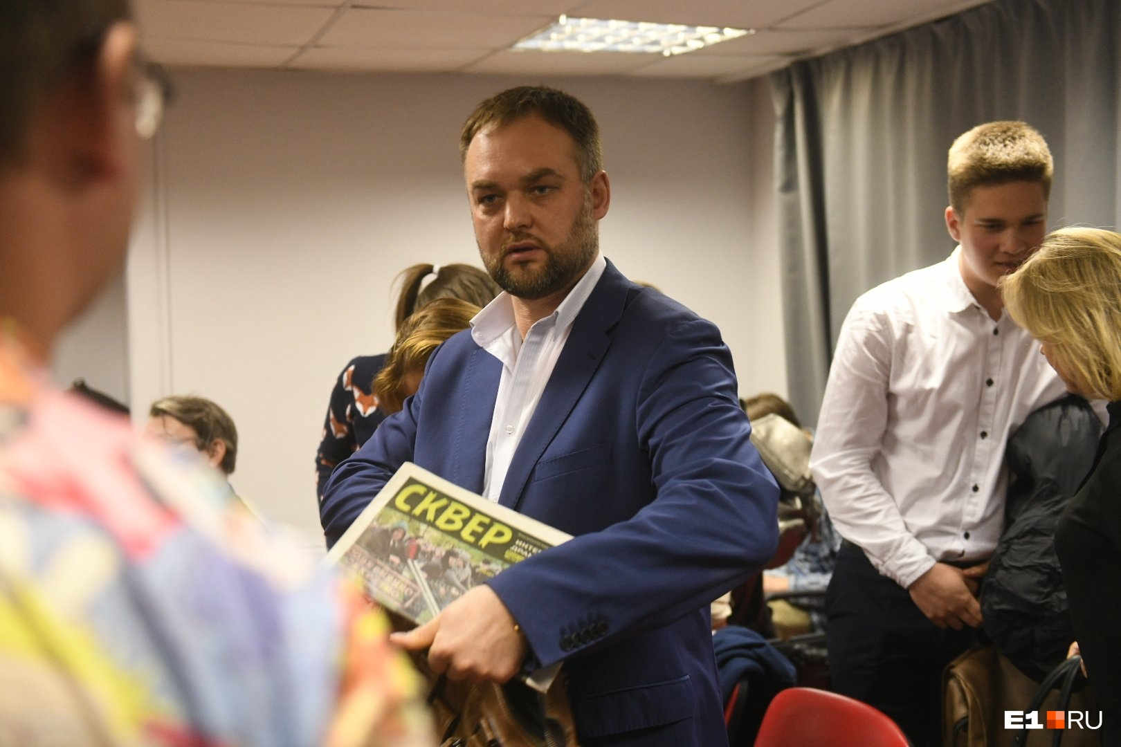 Юрист Иван Волков хочет провести областной референдум о возвращении прямых выборов мэра