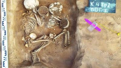 В Самарской области нашли могилы, датированные II тысячелетием до нашей эры