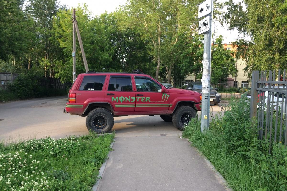 «Короли парковки» против «мам с колясками» (фото)