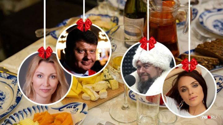 Салаты, кролик и коктейли: 10 фирменных новогодних рецептов от политиков и звёзд