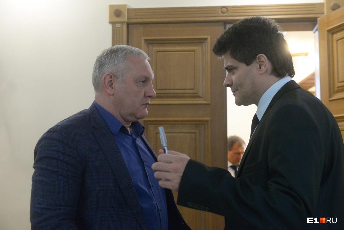 Александр Колесников (слева) и Александр Высокинский