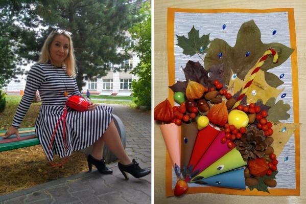 Анастасия Владыко работает в сфере туризма. Занялась поделками для детских садов и школ примерно полгода назад