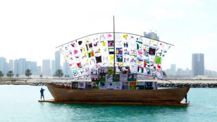 На набережной в Самаре построят 18-метровый деревянный корабль