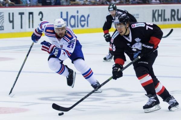Лидер чемпионата КХЛ с первых минут матча с «Трактором» пошёл в атаку