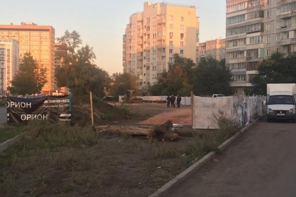 Жители боятся, что на месте появится новая незаконная стоянка