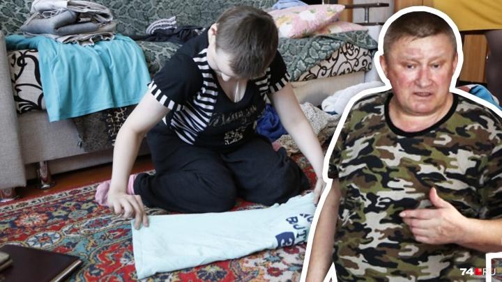 СК начал проверку после публикаций о южноуральце, воспитывающем дочь-инвалида на 200 рублей в день