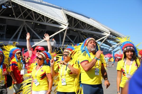 Самыми яркими фанатами футбола стали латиноамериканцы