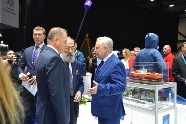 На Арктическом форуме выставочная площадка Петербурга займёт 90 квадратных метров