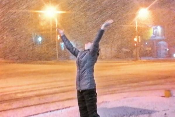 Первый снег — это всегда радостно