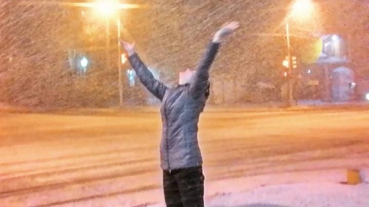 «Хочется больше снега»: смотрим лучшие фото ливневого снегопада в Перми