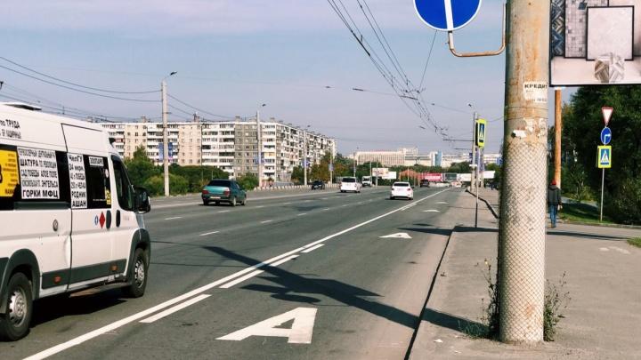 «Признак развитого города»: в Челябинске появилась первая выделенная полоса для транспорта