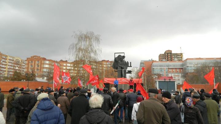 В Самарской области коммунисты заступились за «клубничного короля» Грудинина