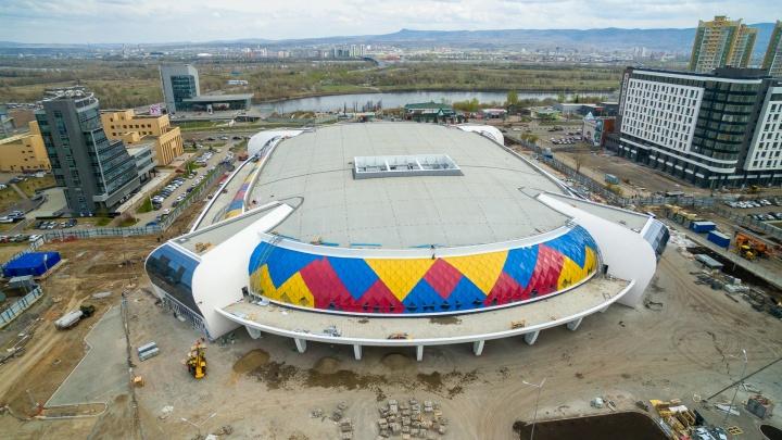 Названа дата открытия для посетителей ледовой арены на Партизана Железняка