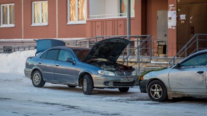 Замерзшие и щедрые: в Новосибирске взлетели цены на отогрев авто