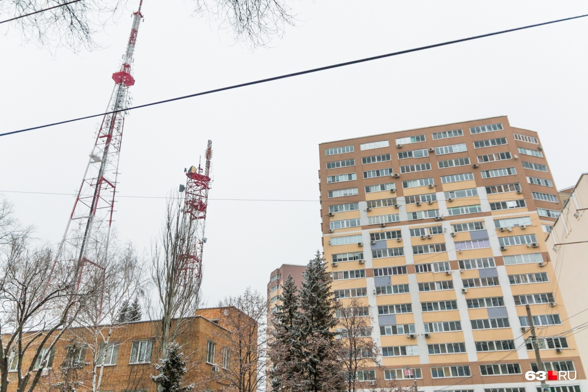 Сейчас в Самарской области работают передатчики двухцифровых мультиплексов