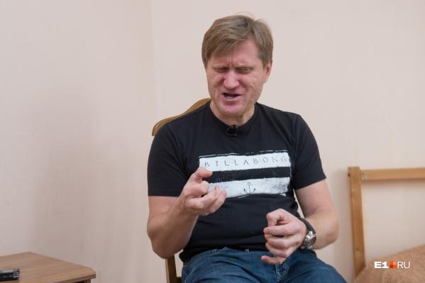 Андрей Рожков — известный на Урале юморист