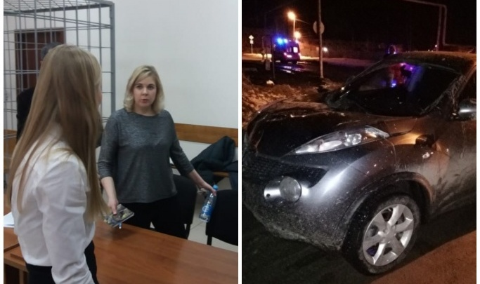 Женщина, дважды сбившая людей в Белоярском, вернулась на место ДТП, несмотря на уговоры мужа