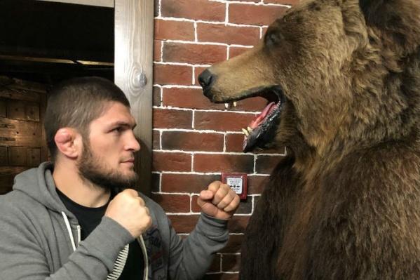 Российский чемпион UFC Хабиб Нурмагомедов