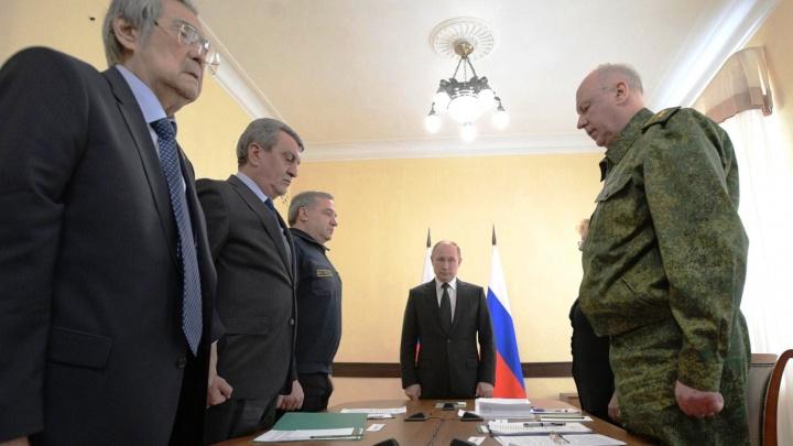 Президент Путин объявил всероссийский траур после пожара в Кемерово