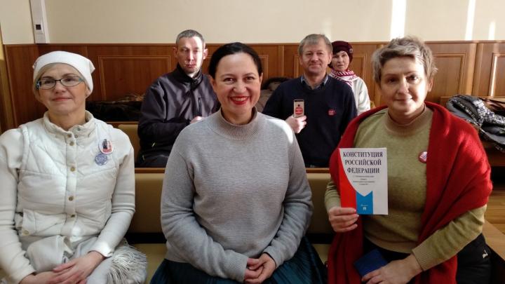 В Архангельске не разрешили провести пикет в защиту Конституции на главной площади города