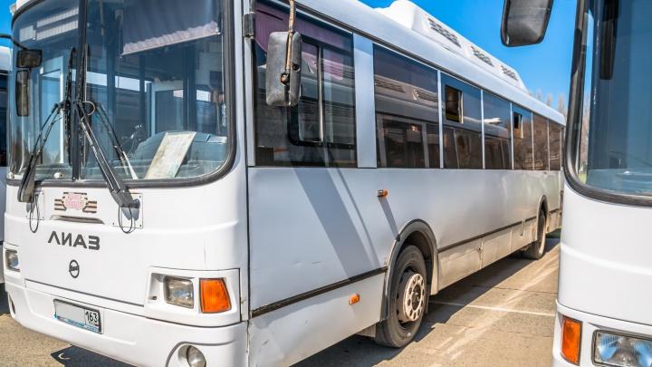 В Самаре на 51-й автобусный маршрут выпустили ЛиАЗы