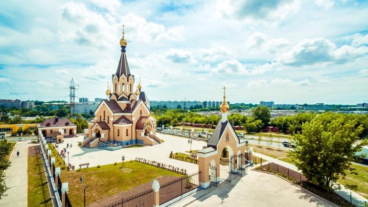 Компания «Энергомонтаж» передала новый храм Андрея Первозванного Новосибирской митрополии